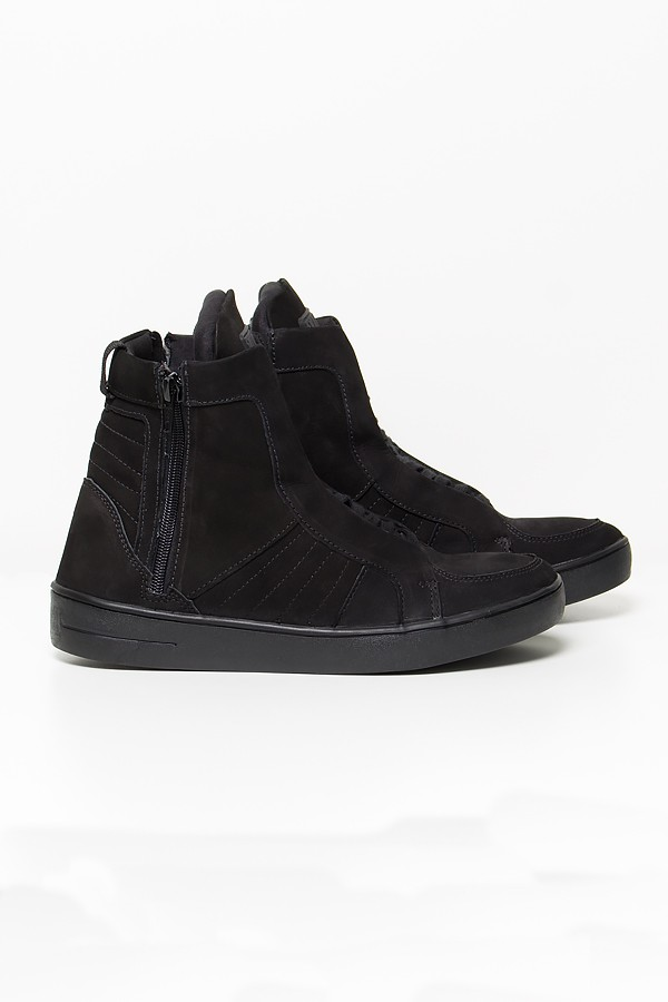 8c63bbd5dc Sneaker Nobuck com Fecho (Preto)