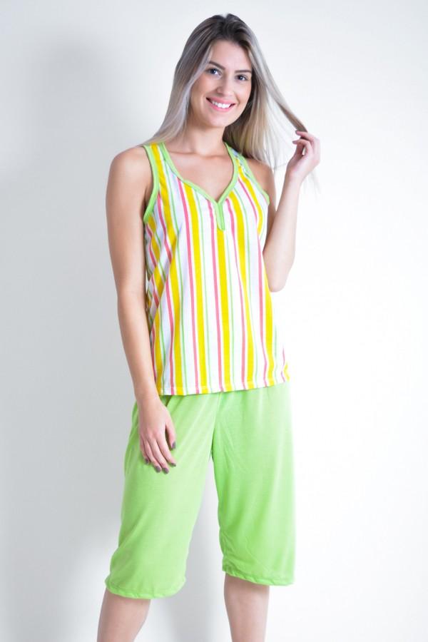 cf251018e Pijama Pescador 239 (Listrado amarelo)