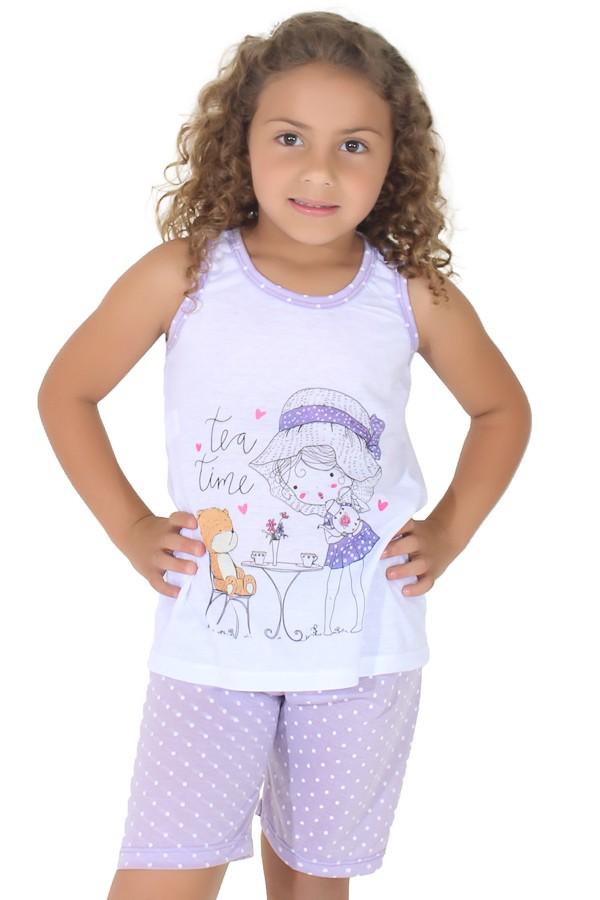 1aeea5390f9720 Pijama pescador infantil 275 (Lilás) | Ref: CEZ-PA275-001 | Kaisan