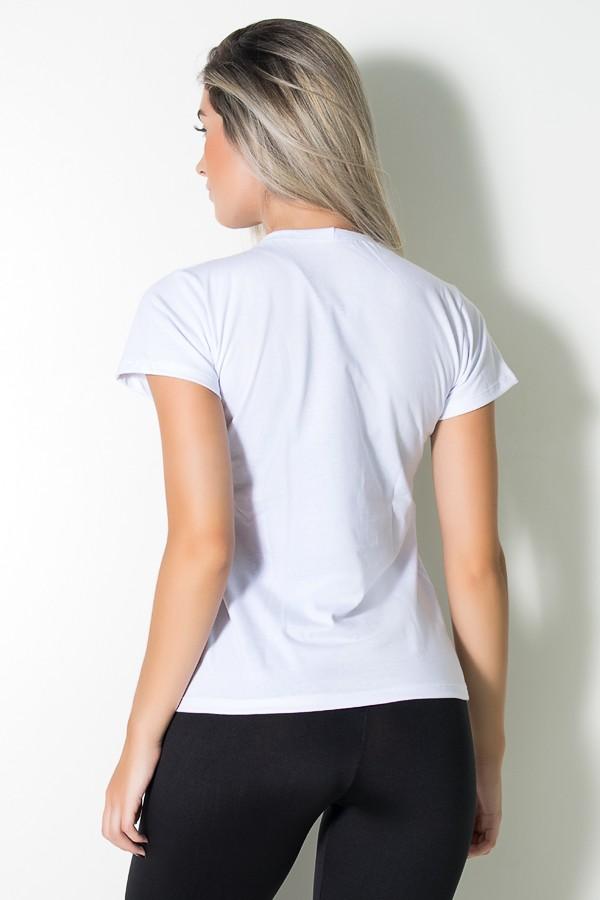e07260ca87 ... Camiseta Feminina Love Fitness (Branco)