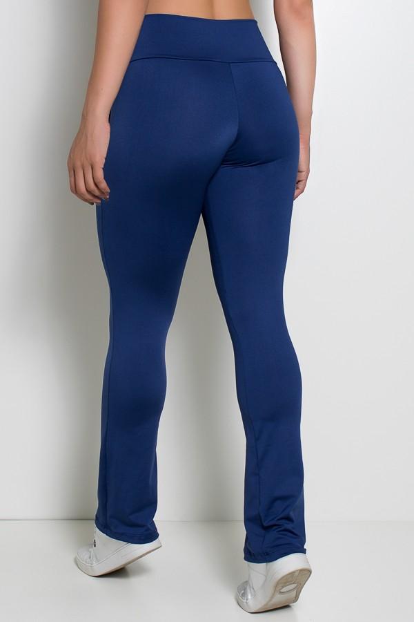 6496894e3 ... Calça Bailarina Isabel (Azul Marinho)   Ref: KS-F180-001 ...