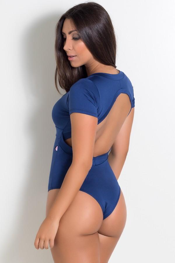 e5227a5700 ... Body Liso Suzana (Azul Marinho)