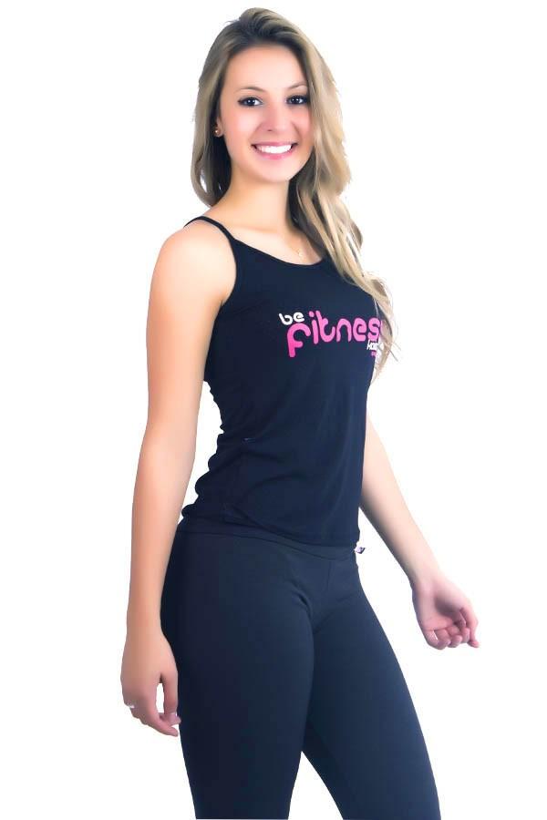 16595555bf ... Camiseta Regata Be Fitness ...