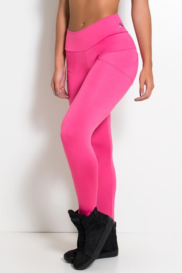 8f9635843 Calça Legging Levanta Bumbum (Rosa Pink) | Ref: KS-F432-002 ...