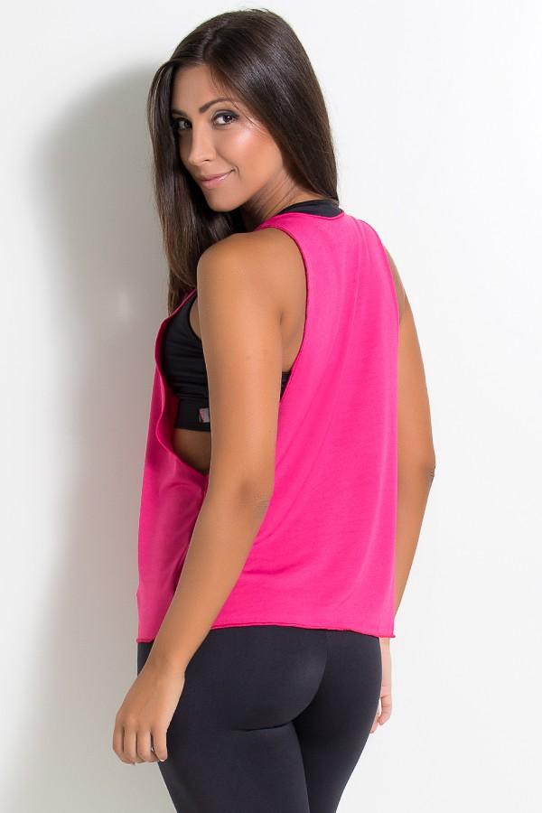 Regata Feminina Lisa (Rosa Pink)  8f0a7a13183