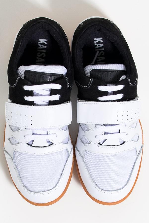 6f74c65f3b3 Tênis Crossfit Masculino com Velcro e Cadarço (Preto   Branco)