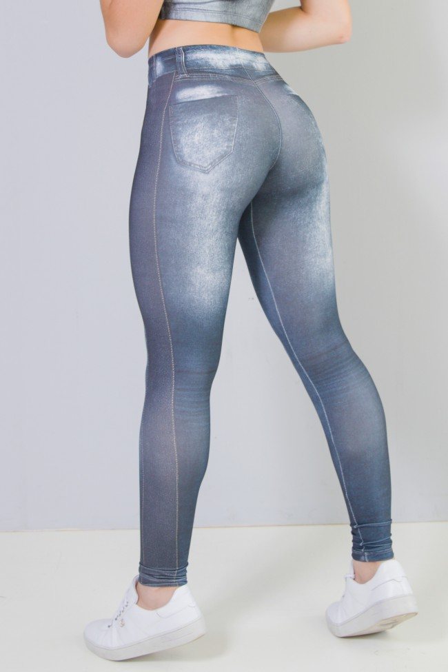 ffafa80cc ... Legging Sublimada (Jeans Couro) | Ref: NTSP29-001 ...