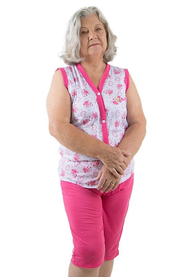 d628be6f8dc36d Pijama Pescador 098 (Pink) | Ref: CEZ-PA098-004 | Kaisan