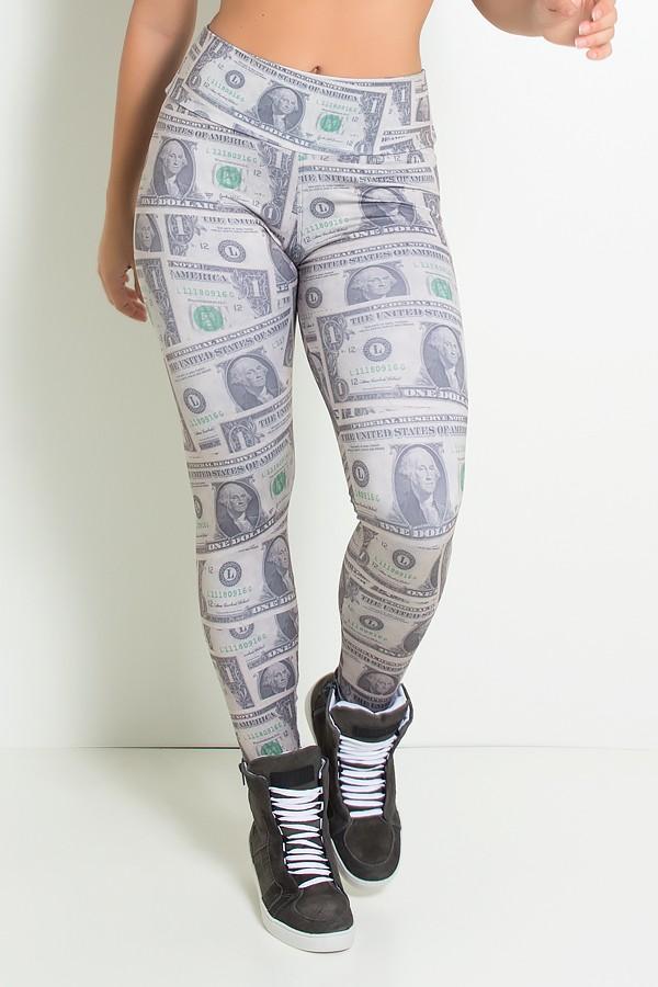 62d793145 Legging Dólar Sublimada | Ref: KS-F1006 ...