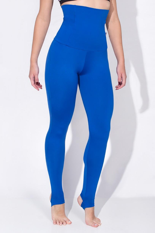 Calça Mirella Modeladora com Pezinho (Azul Royal) | Ref: KS-F215-002