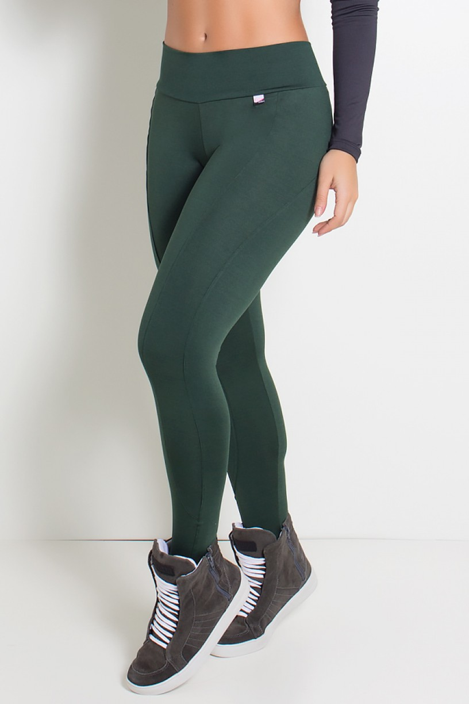 Calça Montaria Suplex (Verde Escuro) | Ref: KS-F41-007