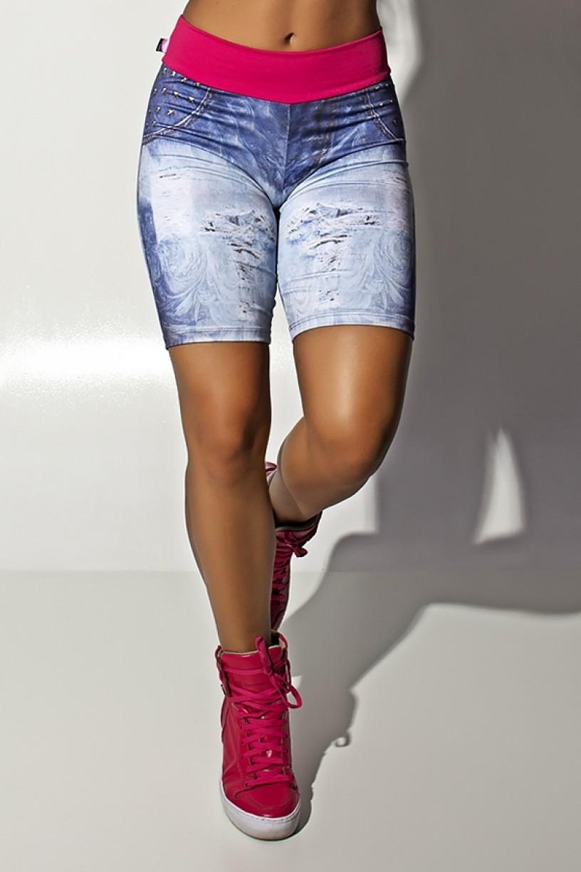 F1114-001_Bermuda_Jeans_Sublimada_com_Cos_Rosa_Pink__Ref.:_F1114-001