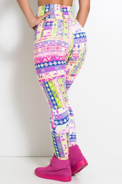 KS-F27-122_Legging_Estampada_Cos_Alto_Mosaico_Fluorescente__Ref:_KS-F27-122