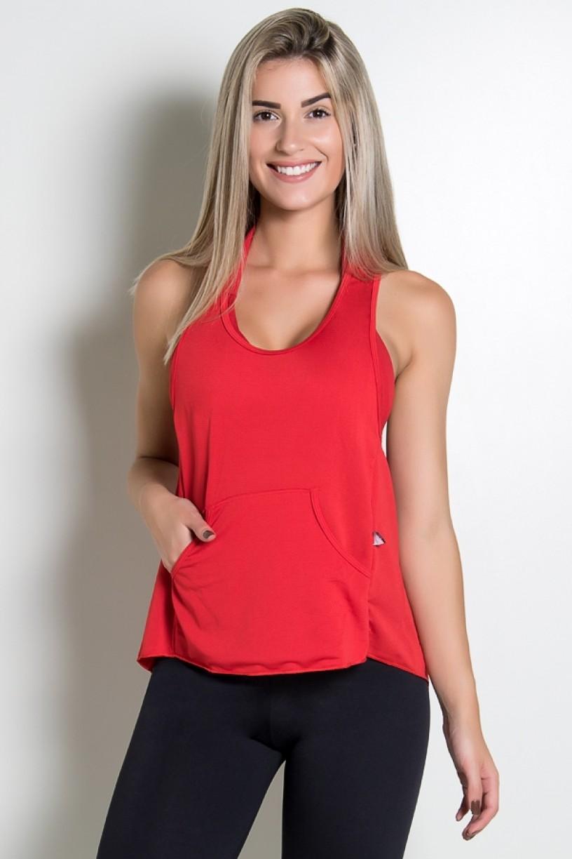 KS-F273-005_Camiseta_Dry_Fit_com_Bolso_Marissol_Vermelho__Ref:_KS-F273-005