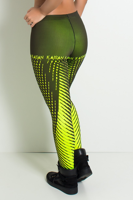 NTSP11-001_Legging_Sublimada_PRO_Raios_Amarelo_Neon__Ref:_NTSP11-001