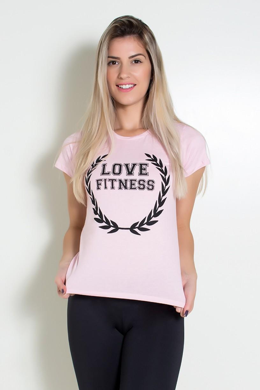 KS-F705-002_Camiseta_Feminina_Love_Fitness_Rosa__Ref:_KS-F705-002