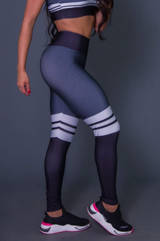 K2628_Calca_Legging_3D_Cotton_And_Stripes__Ref:_K2628