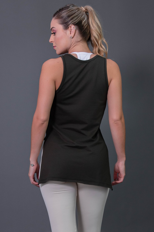 K2576-C_Camiseta_Mullet_Moletim_com_Silk_Verde_Militar__Off-White__Ref:_K2576-C