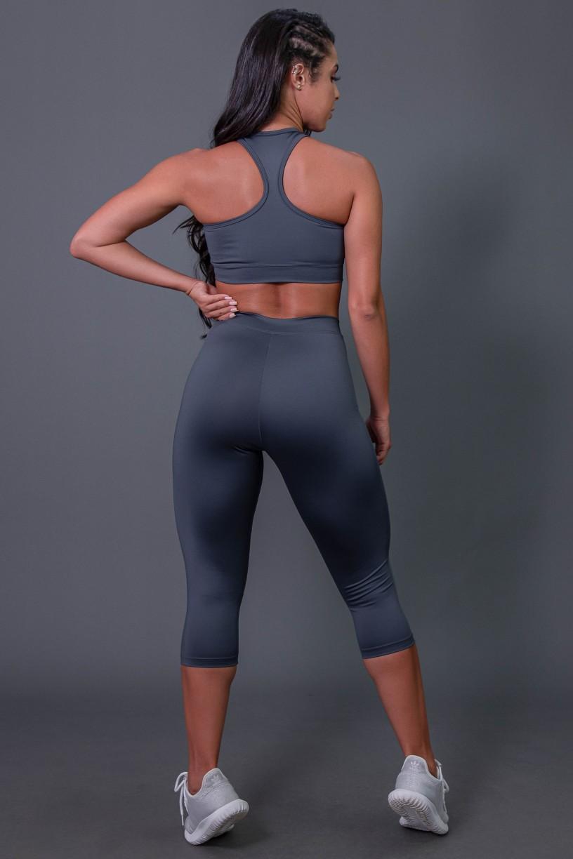K2687-B_Corsario_Fitness_com_Elastico_e_Silk_Cinza_Escuro__Cinza__Ref:_K2687-B
