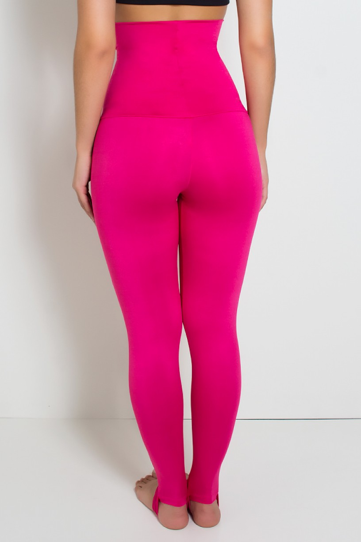 Calça Mirella Modeladora com Pezinho (Rosa Pink) | Ref: KS-F215-004