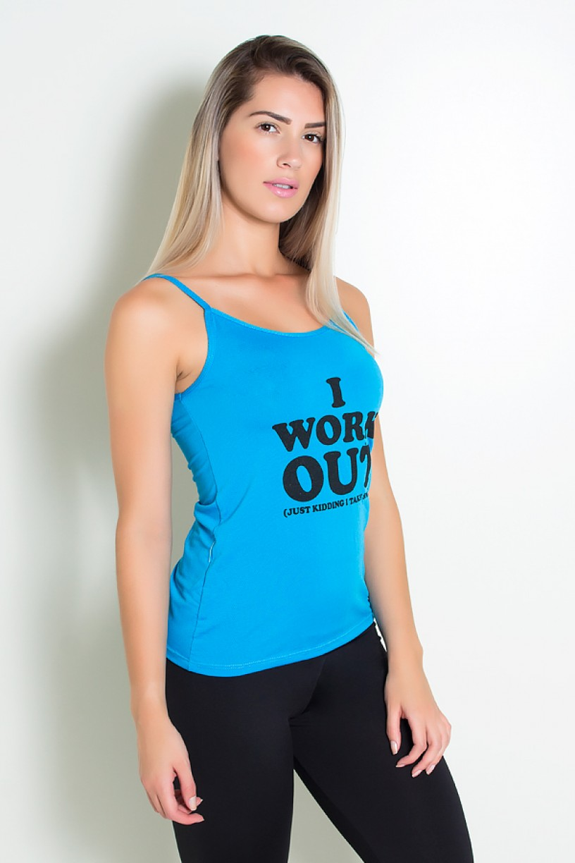 Camiseta Dry Fit July ( I work Out ) | KS-F373