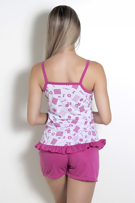 Babydoll feminino 065 (Pink)