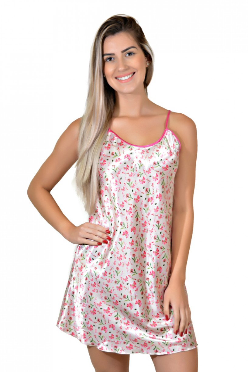 Camisola 002 (Floral rosa)