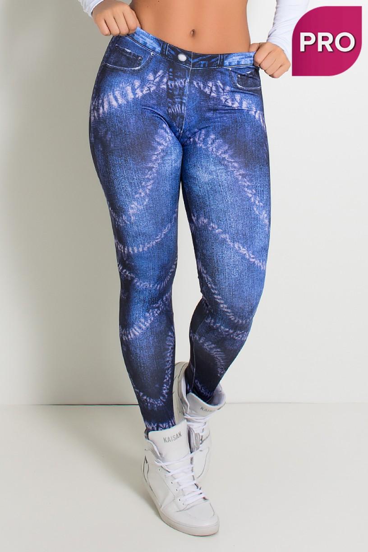 Legging Sublimada PRO (Jeans Dye) | Ref: NTSP32