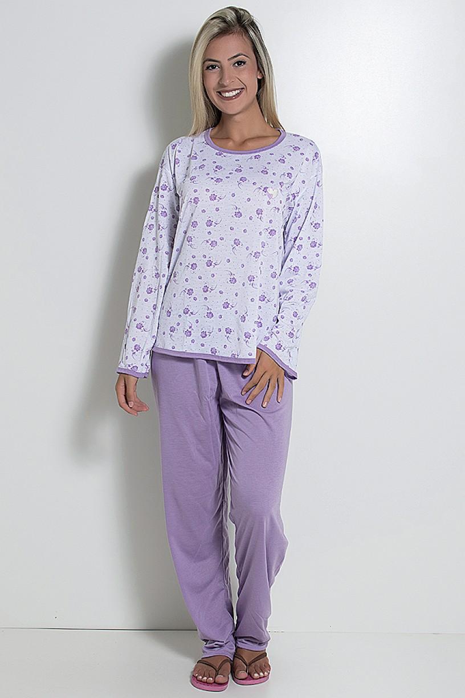 Pijama Longo 075 (Lilás)