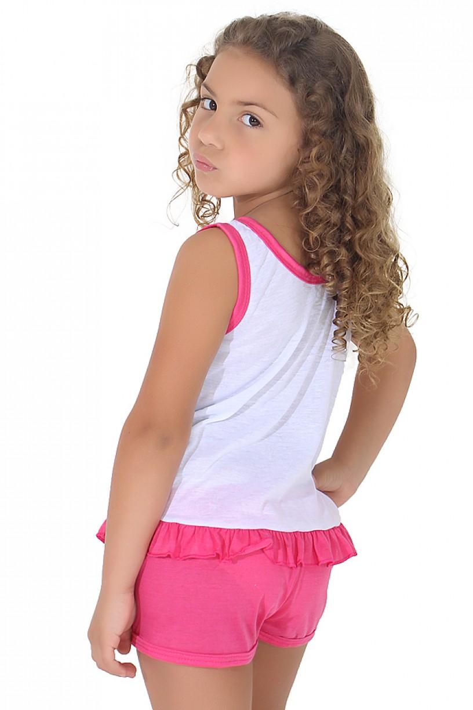 Babydoll Infantil 059 (Pink)   Ref: CEZ-PA059-001