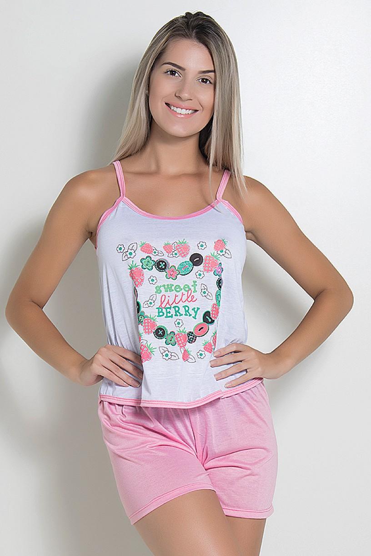 Babydoll Feminino 023 (Rosa)   Ref: CEZ-BM09-002