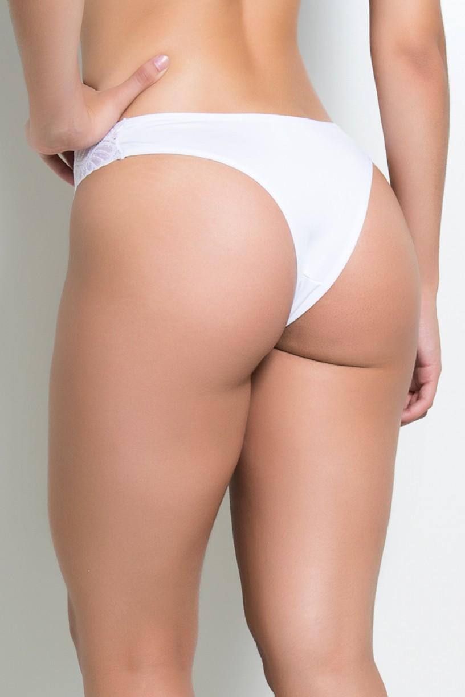 Calcinha Clara (Branco)   Ref: KS-A177-001