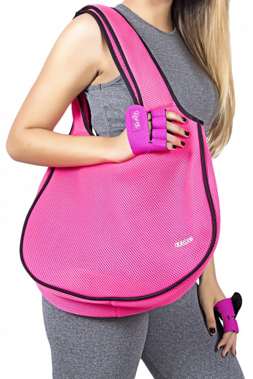 Bolsa Fitness Rosa Fluor | Ref: KS-F781-004