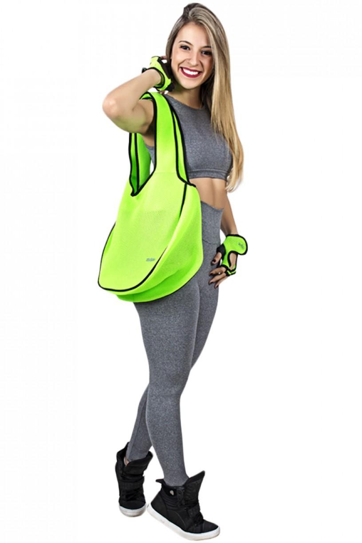 Bolsa Fitness Verde Limão   Ref: F787