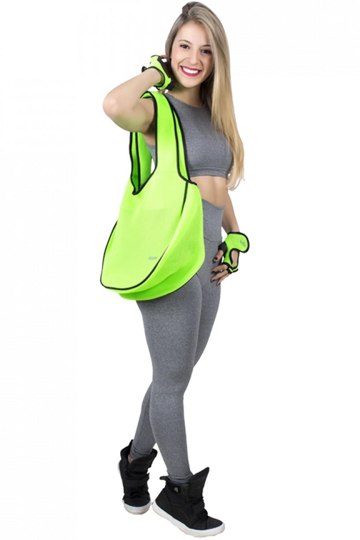 Bolsa Fitness Verde Limão | Ref: F787