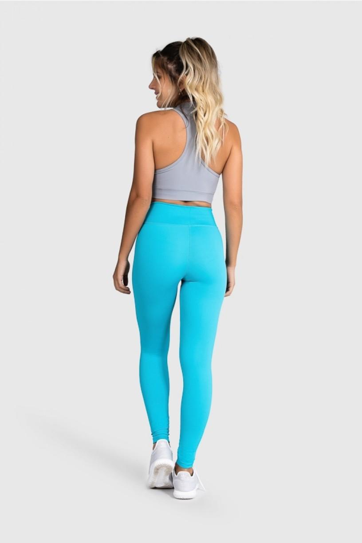 Calça Fitness Básica (Azul)   Ref: GO1-E