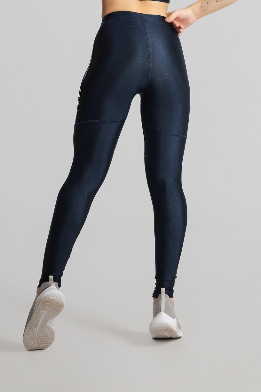 Calça Legging com Chapado (Azul Marinho)   Ref: GO468-D