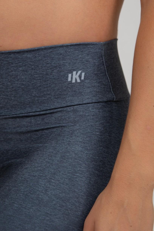 Calça Legging Estampa Digital com Cós Duplo (Black Blend)   Ref: K2975-A