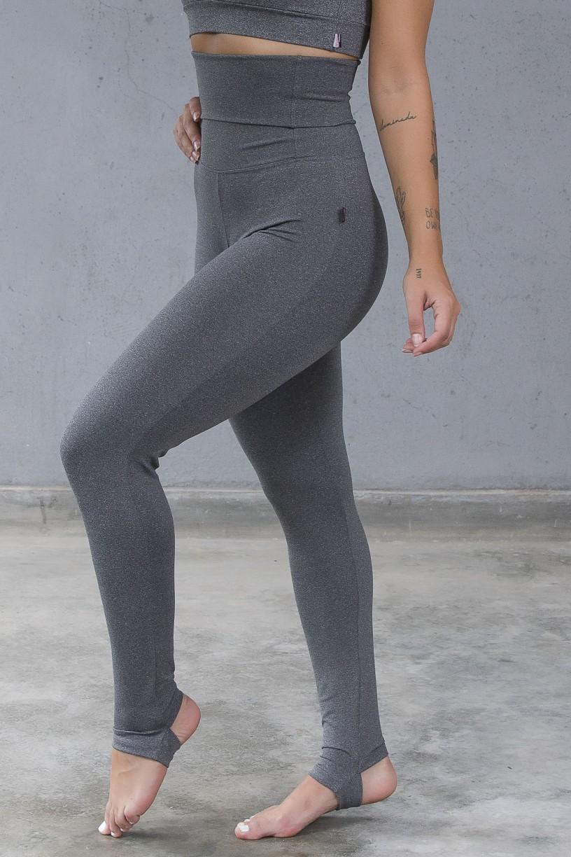 Calça Legging Modeladora com Pezinho (Mescla)   Ref: KS-F211-001