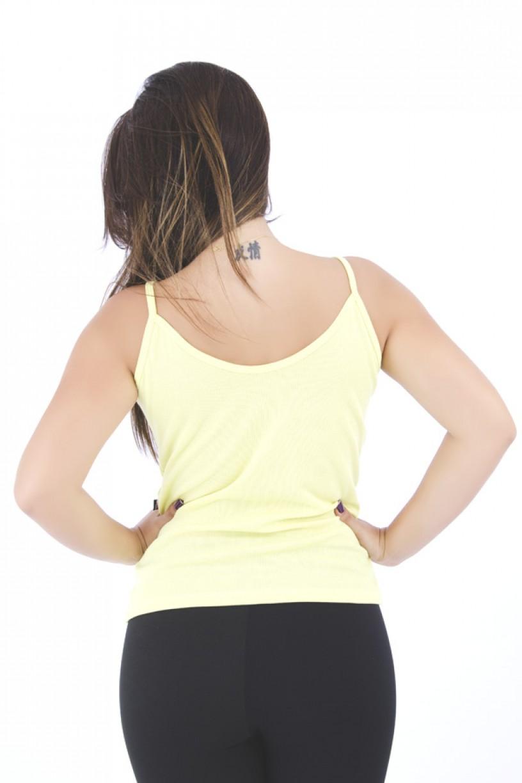 Camiseta Ribana Alça Fina