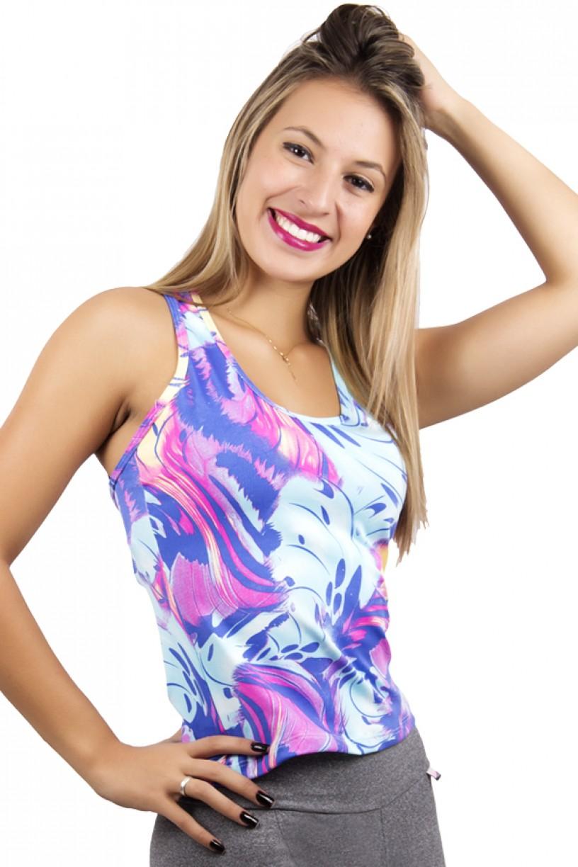 Camiseta Estampada Júlia | ReF: F246