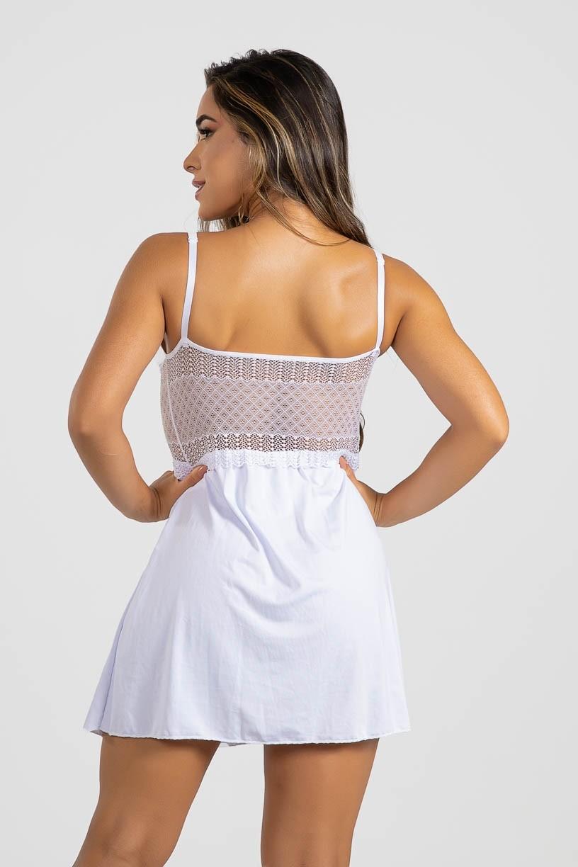 Camisola Romance (Branco)   Ref: P02-4-A