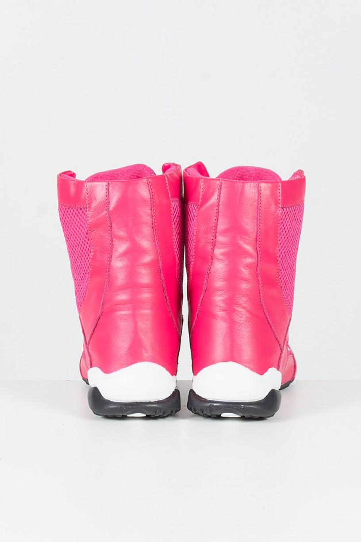 Bota Fitness Cano Alto (Rosa Pink)   Ref: T27