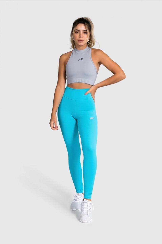 Cropped Fitness Gola Alta (Cinza) | Ref: GO8-J