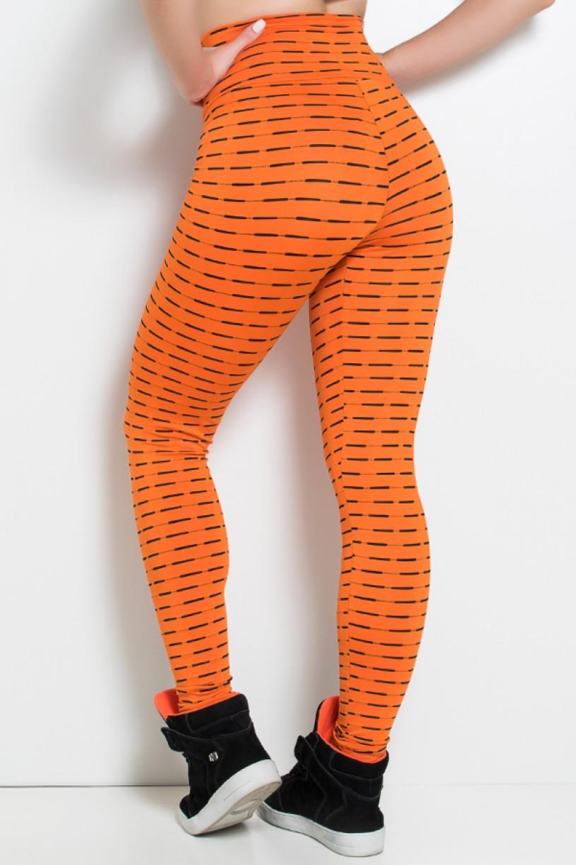 Calça Legging Mini Mesh (Laranja) | Ref: KS-F115-002