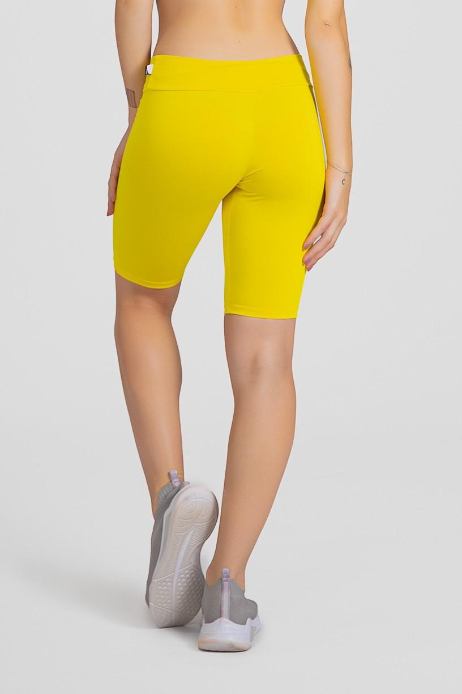 Bermuda Ciclista (Amarelo)   Ref: F1338-002