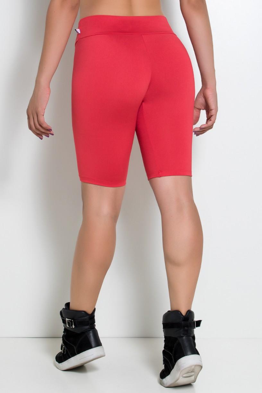 Bermuda Ciclista Suplex (Vermelho) | Ref: KS-F1338-015