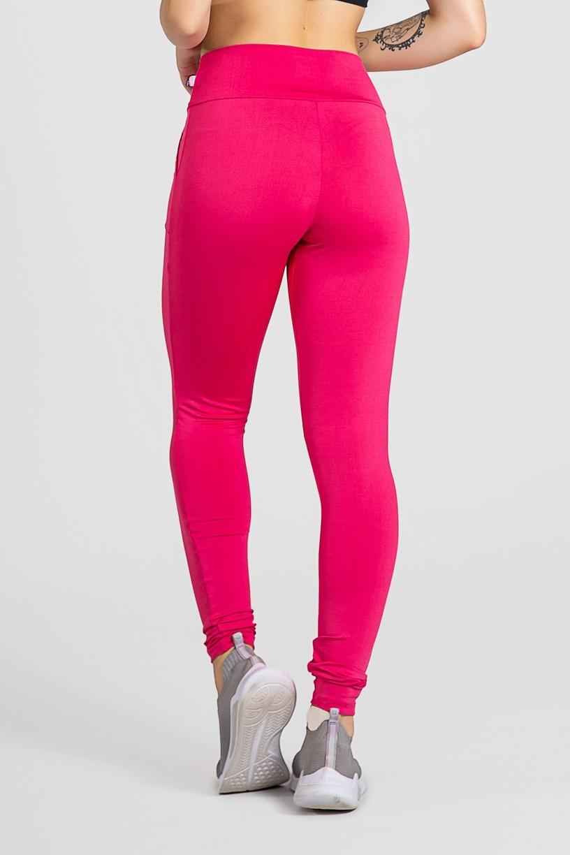 Calça Legging Bailarina Cores Lisas (Rosa Pink)   Ref: KS-F145-002
