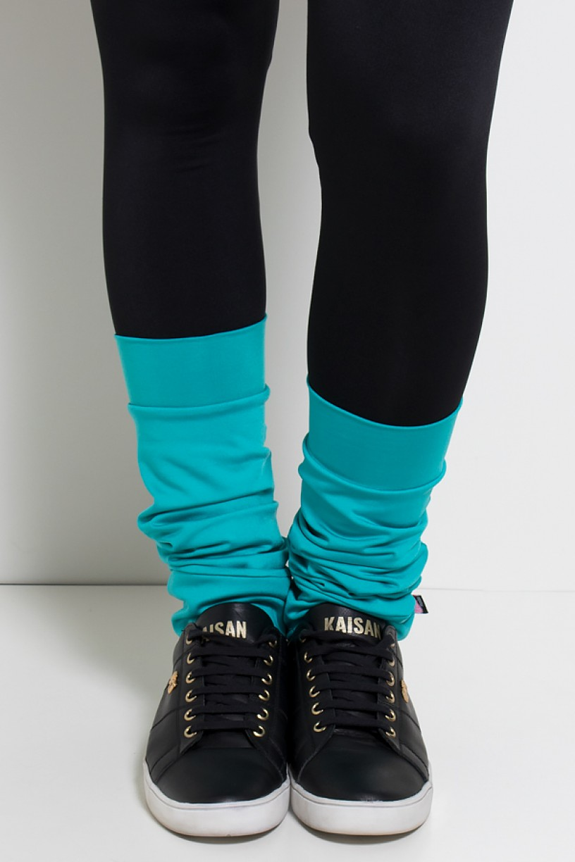 Polaina Fitness Lisa (O Par) (Verde Esmeralda) | Ref: KS-F182-010