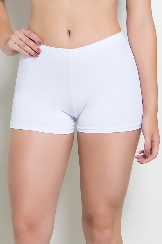 Mini Short Liso (Branco) | Ref: KS-F1844-002